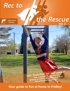 Rec to the Rescue Cover 2 - Child on monkey bars
